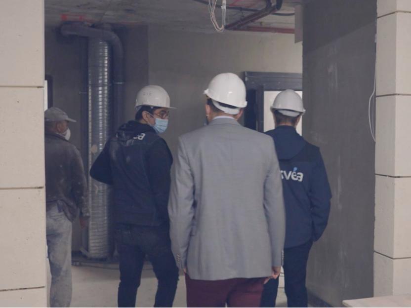 L'équipe Orvéa vous accompagne pour l'organisation de la visite de chantier